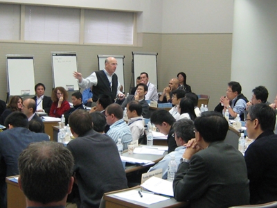 Working with Hitachi managers in Tokyo
